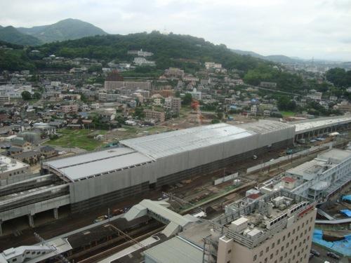 新幹線熊本駅舎(建設途中)_c0052304_9344226.jpg