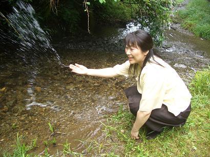 貴船川の清流_c0085539_17283587.jpg