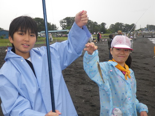 荏田南小学校・雨天の釣り教室」_f0175450_1914962.jpg