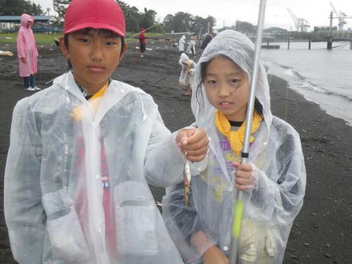 荏田南小学校・雨天の釣り教室」_f0175450_1922422.jpg
