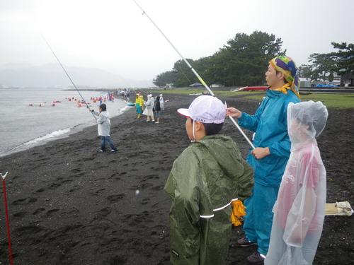 荏田南小学校・雨天の釣り教室」_f0175450_192291.jpg