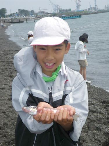 いぶき野小学校釣り教室_f0175450_5112045.jpg