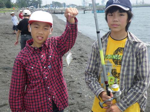 いぶき野小学校釣り教室_f0175450_5151060.jpg