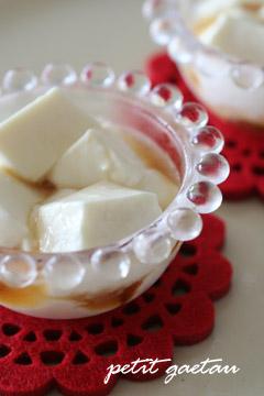 紅茶のケーキ&ミルクゼリー_f0078756_1353743.jpg