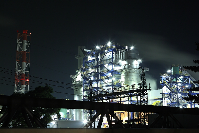 night view of industrial area..4_e0131279_22552665.jpg