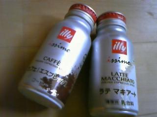 イタリアンエスプレッソ『illy』缶コーヒー_c0060412_12111762.jpg