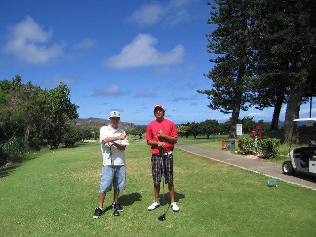 ハワイのゴルファー_e0022439_22135378.jpg
