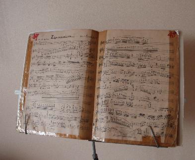 楽譜とバイオリン_e0077899_7532730.jpg