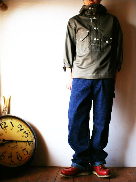 orslow [オアスロウ] PAINTER PANTS one wash 9oz original selvedge denim _f0051306_183533.jpg