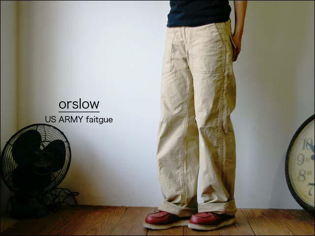 orslow レディースアイテム 秋の再入荷_f0051306_18372010.jpg