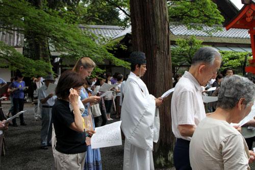 夏越の大祓いー吉田神社_e0048413_21185597.jpg