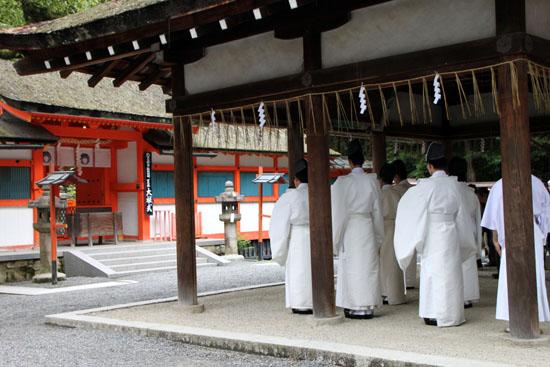 夏越の大祓いー吉田神社_e0048413_21192313.jpg
