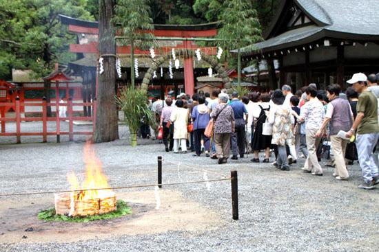 夏越の大祓いー吉田神社_e0048413_21201448.jpg