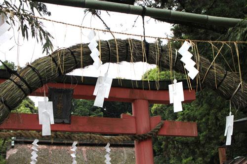 夏越の大祓いー吉田神社_e0048413_2120256.jpg