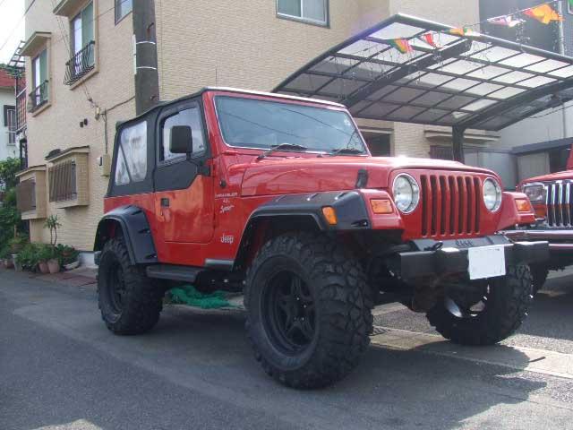 Jeep TJ ラングラー カスタム ピットブルタイヤ&レースラインホイール_b0123820_9462263.jpg
