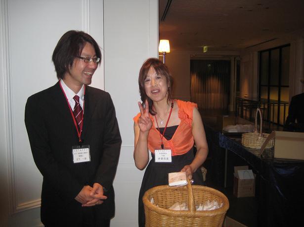 わが愛しの先輩の出版パーティに行ってきました。_e0108337_12143545.jpg