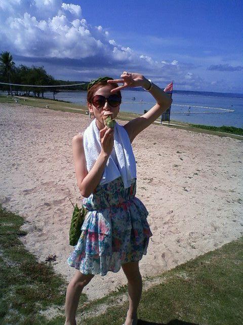 2009年06月  前林由佳子オフィシャルブログ  GUAMグアム旅行で