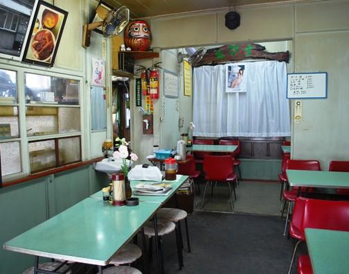 ゑびす食堂のハムカツ丼_c0177814_15564913.jpg