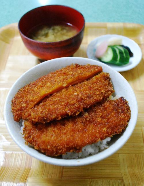 ゑびす食堂のハムカツ丼_c0177814_160614.jpg