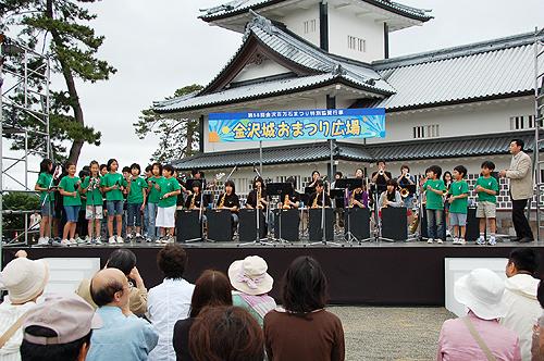SEEDS & JAZZ-21 金沢城お祭り広場に出演しました!_e0118827_23194884.jpg