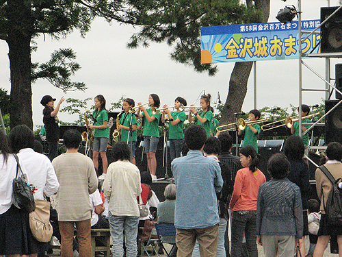 SEEDS & JAZZ-21 金沢城お祭り広場に出演しました!_e0118827_23212016.jpg