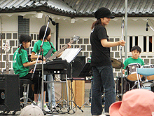 SEEDS & JAZZ-21 金沢城お祭り広場に出演しました!_e0118827_23213817.jpg