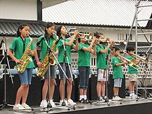 SEEDS & JAZZ-21 金沢城お祭り広場に出演しました!_e0118827_23215665.jpg