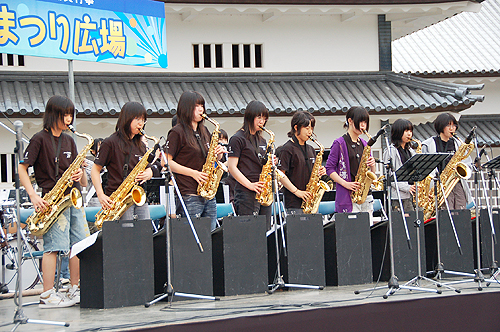 SEEDS & JAZZ-21 金沢城お祭り広場に出演しました!_e0118827_23225748.jpg