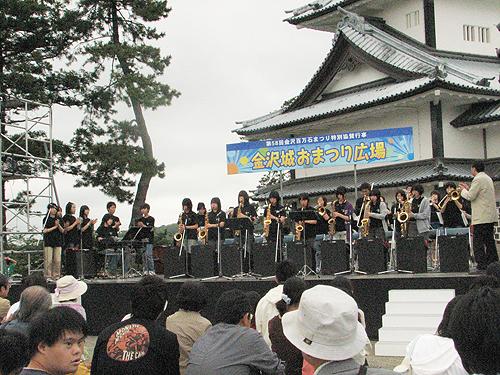 SEEDS & JAZZ-21 金沢城お祭り広場に出演しました!_e0118827_23244514.jpg