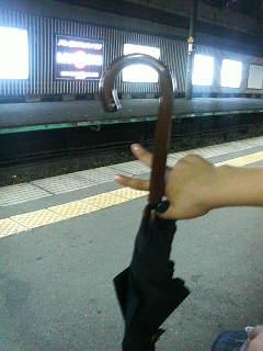 傘いるの?いらないの_a0075684_23294578.jpg