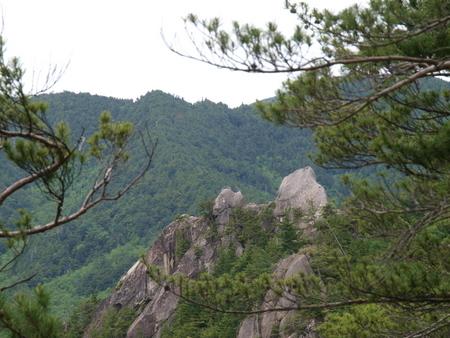 小川山 2009 (21) 水晶へのアプローチはカモシカ登山道?!_a0016346_12363511.jpg