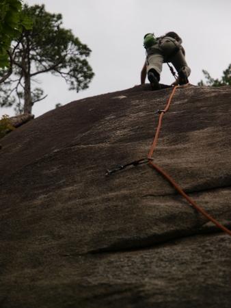 小川山 2009 (21) 水晶へのアプローチはカモシカ登山道?!_a0016346_12391687.jpg