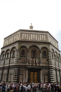 フィレンツェの古い洗礼堂~サンジョヴァンニ洗礼堂_f0106597_1538198.jpg
