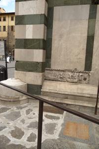 フィレンツェの古い洗礼堂~サンジョヴァンニ洗礼堂_f0106597_1625164.jpg