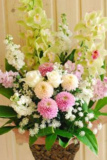 お供えのお花、お届けいたします *秋のお彼岸に*_a0115684_16502177.jpg