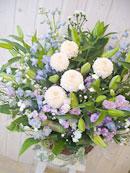 お供えのお花、お届けいたします *秋のお彼岸に*_a0115684_16514748.jpg