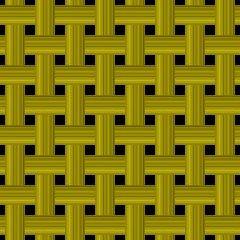 編みカゴ模様