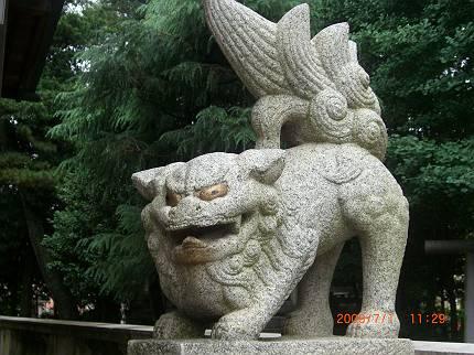 E区の狛犬 鹿骨・鹿島神社_d0065324_13485380.jpg