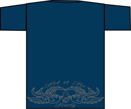 Freely15周年 Tシャツ_c0181538_16171117.jpg