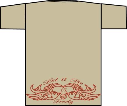 Freely15周年 Tシャツ_c0181538_1618555.jpg