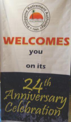 PRAの24周年記念パーティー バギオ ジョン・ヘイにて_a0109542_0453511.jpg
