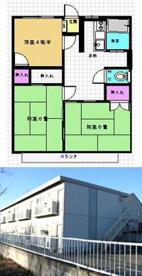 物件No.13 宮本ハイツA棟 202号室_a0136945_041487.jpg