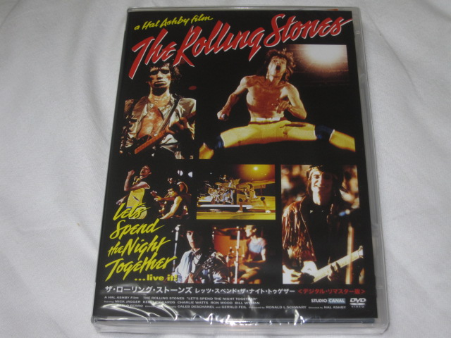 THE ROLING STONES / LET\'S SPEND NIGHT TOGETHER (DVD)_b0042308_14573326.jpg
