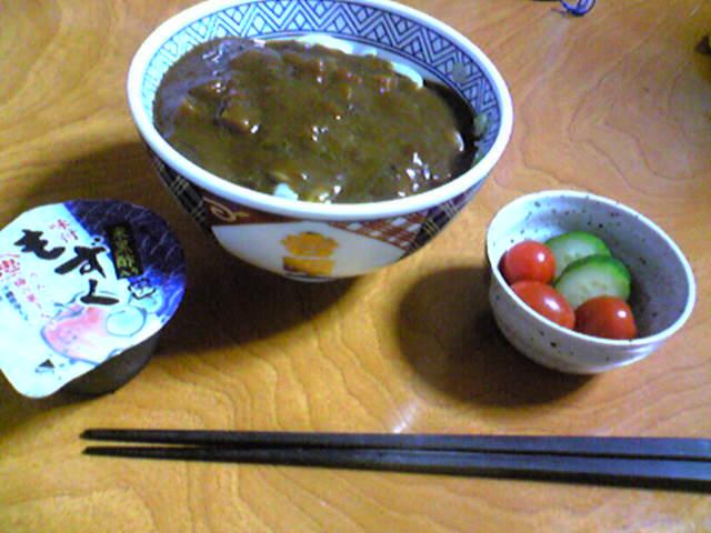 ベントマン カレーうどんとスーパーのり丼と味噌カツ丼1200円_d0147165_19462513.jpg