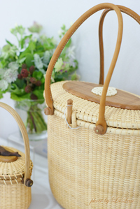 Herbsのお届け〜nantucket basket exhibition〜 _d0141376_2314409.jpg