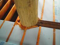 別荘地でのCozyUpHome屋根仕上げと下地造作工事2_d0059949_11322674.jpg