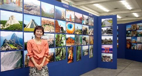 「世界遺産旅日記・パネル展」は大好評でした!_b0067283_1633889.jpg