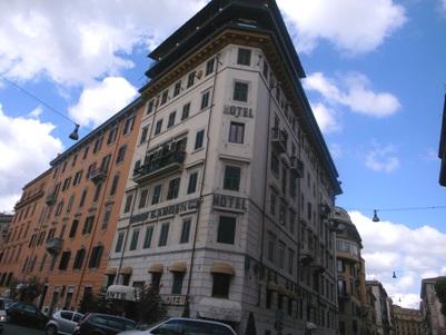 ローマ、ヴァチカン近くのホテル_a0077294_15395630.jpg
