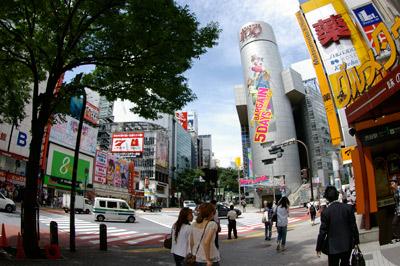 7月7日(火)今日の渋谷109前交差点_b0056983_15283058.jpg