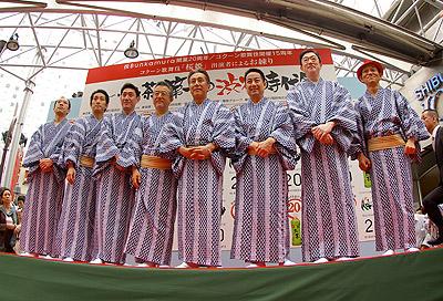 第1回渋谷時代祭・お練り_b0056983_17113258.jpg